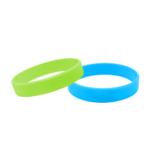 braccialetto silicone fluo