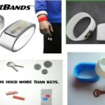 braccialetto in silicone con tasca per chiavi o soldi by masitalia