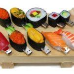 chiavetta usb sagomabile serie cibo sushi