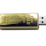 gold chiavetta usb