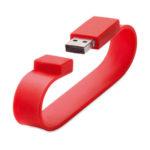 beno braccialetto in silicone con chiavetta usb