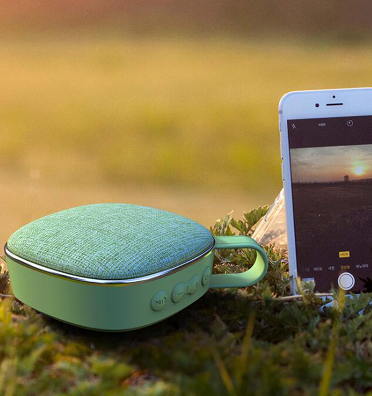 fabric speaker bluetooth
