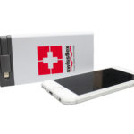 Power bank con cavetto alimentatore