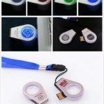 hole cristal usb chiavetta con luce led che brilla quando si inserisce nel pc by masitalia