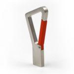 karabiner chiavetta usb con chip branded con moschettone linea top design by masitalia