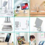 ZOOM Portasmartphone e tablet allungabile e regolabile in altezza ideale per meeting on line by masitalia