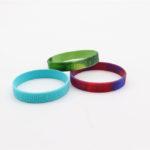 braccialetto in silicone anti zanzara