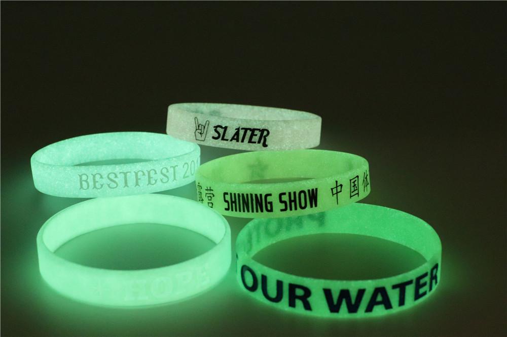 braccialetto silicone by masitalia fluorescenti