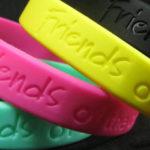 braccialetto in silicone